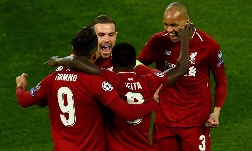 b45c9bb0b Match report  Keita and Firmino give Reds advantage over Porto - Liverpool  FC