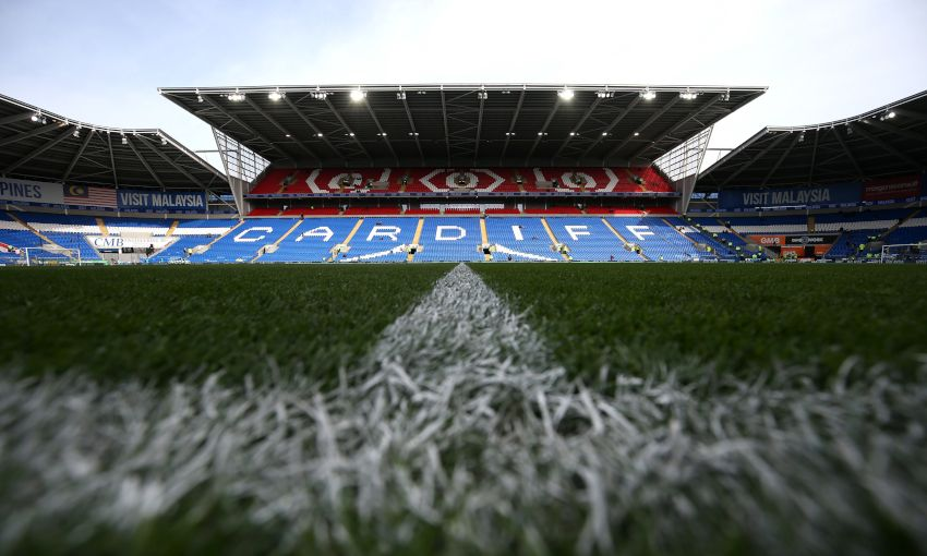 General view of Cardiff City Stadium