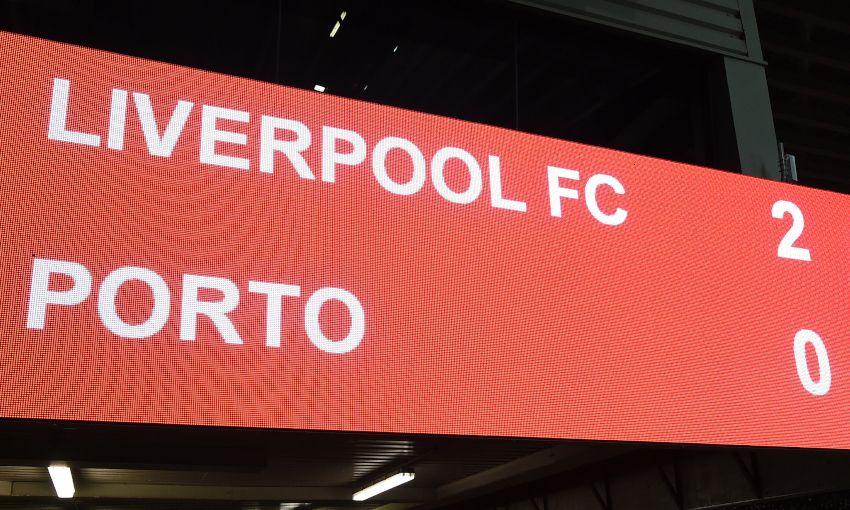 Six interesting stats from Liverpool 2-0 Porto - Liverpool FC