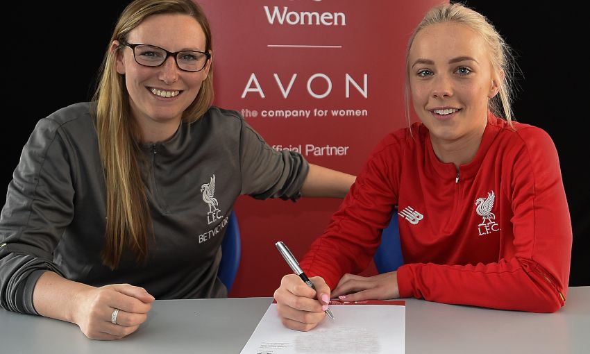 Ashley Hodson signs new Liverpool FC Women contract