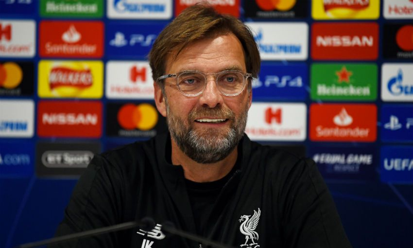 Jürgen Klopp press conference