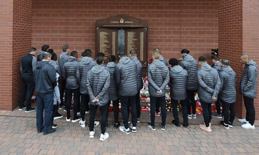 Hillsborough tributes across the city on 30th anniversary