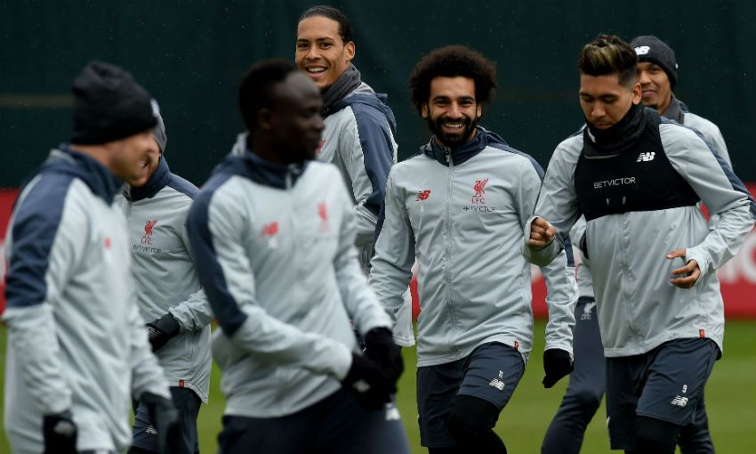 Liverpool FC training session, Melwood
