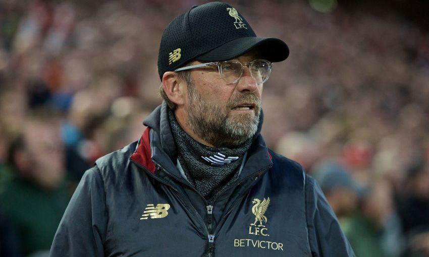 Liverpool manager Jürgen Klopp