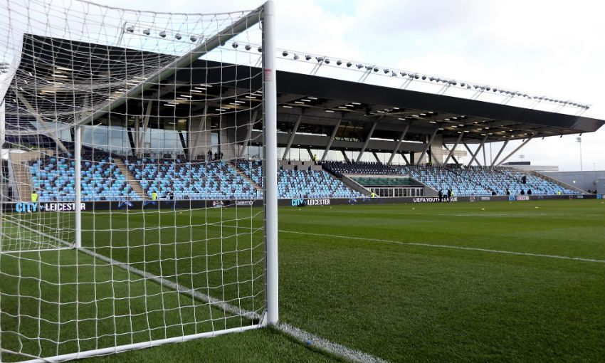 Manchester City's Academy Stadium