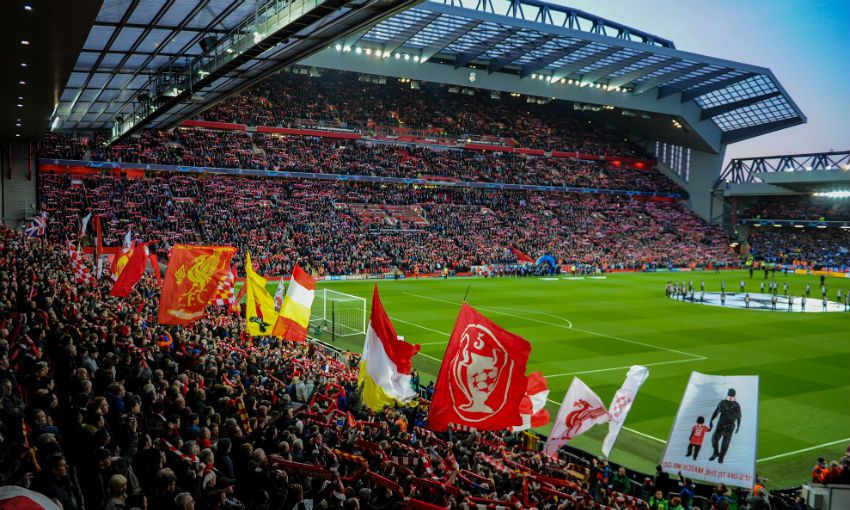 Liverpool FC's Anfield