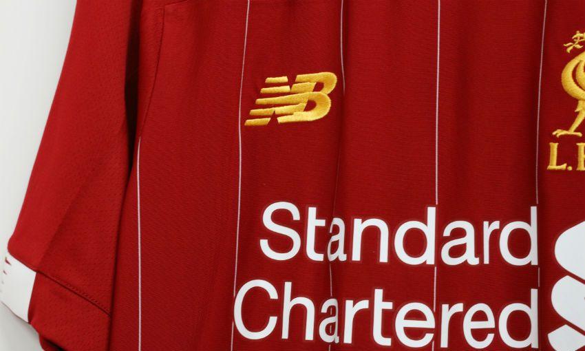 Liverpool FC New Balance home kit 2019-20