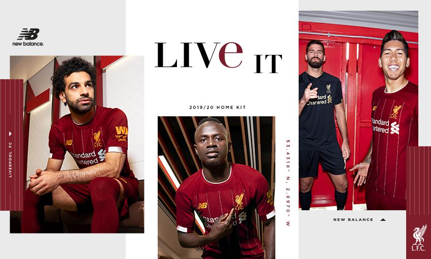 on sale bcdde 89c35 Liverpool's 2019-20 home kit revealed - pre-order now ...
