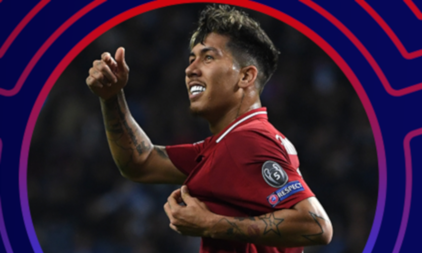 Firmino nominated for CL Player of the Week award