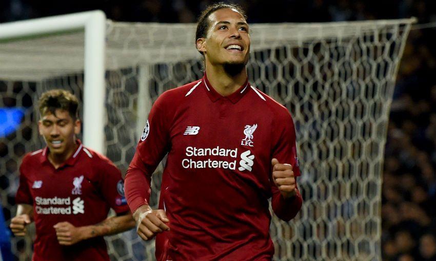 Liverpool FC's Virgil van Dijk