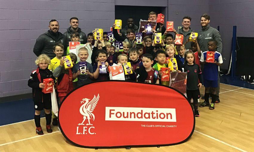 LFC Foundation half-term camps