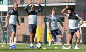 Liverpool training, April 19