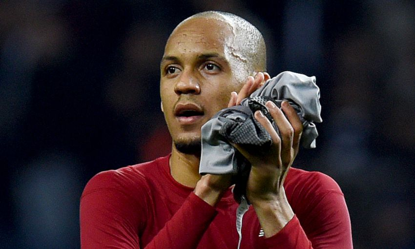 'Fabinho is OK' - Klopp's update on midfielder