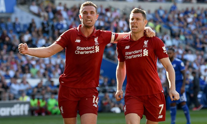 JORDAN HENDERSON JAMES MILNER CARDIFF CITY