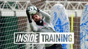 Inside Training: High spirits as the Reds prepare for Huddersfield