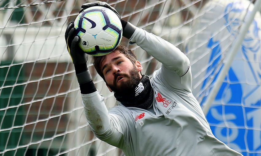 Inside Training: Up close with Alisson and co at Melwood
