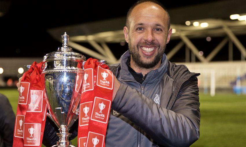 Liverpool U18s celebrate FA Youth Cup final win