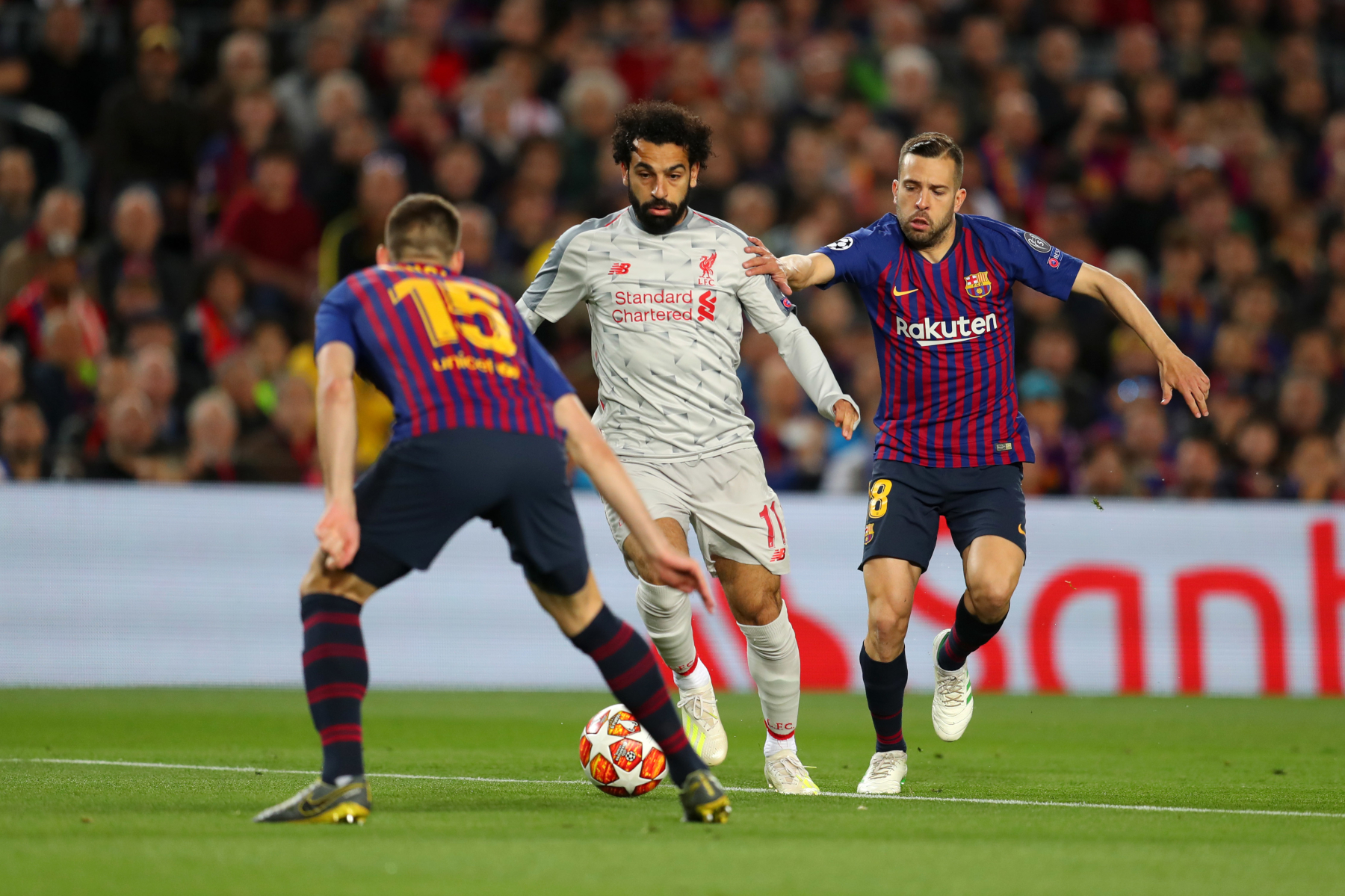 Liverpool's Van Dijk: Barcelona know Champions League tie not over