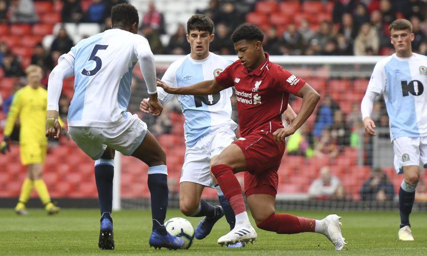 Liverpool U23s v Blackburn Rovers at Anfield
