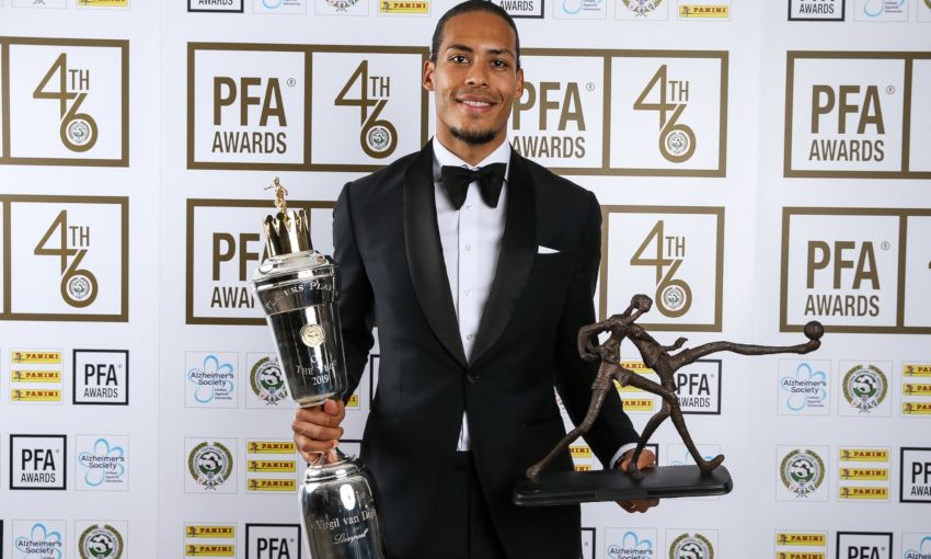 Virgil van Dijk wins PFA Players' Player of the Year