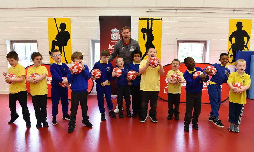 Liverpool FC Foundation team up with Joie Baby