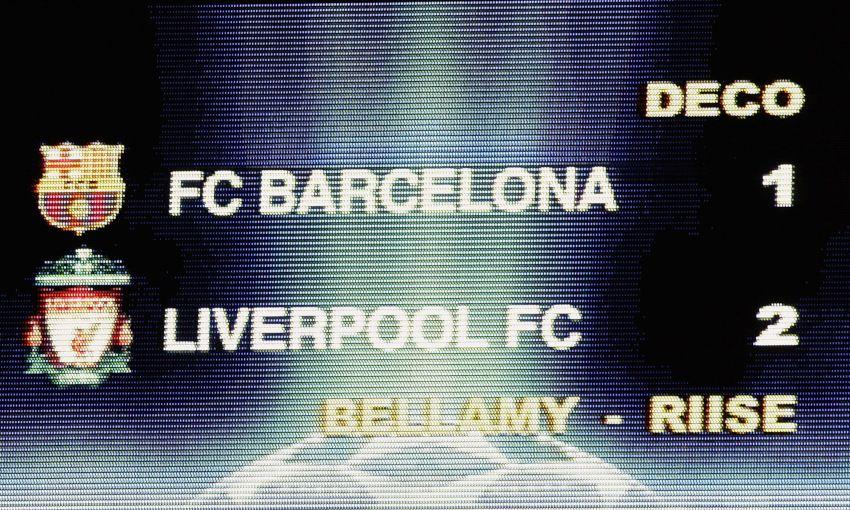 Barcelona v Liverpool, 2007