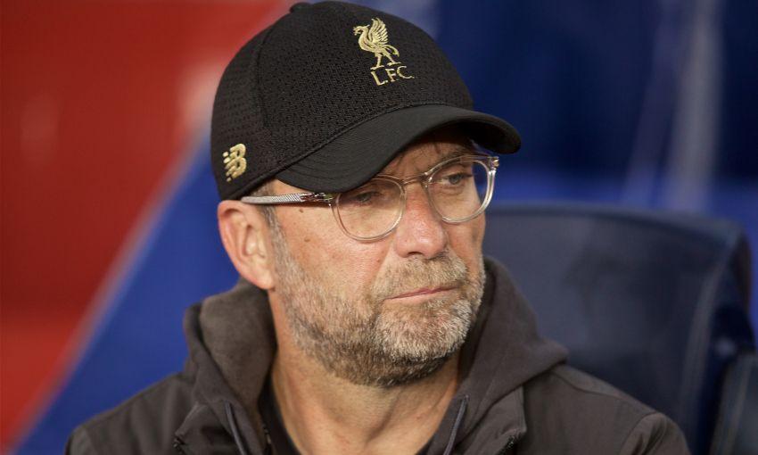 Jürgen Klopp at Barcelona v Liverpool