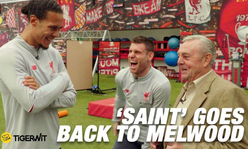 Ian St John goes back to Melwood, Liverpool FC's training ground