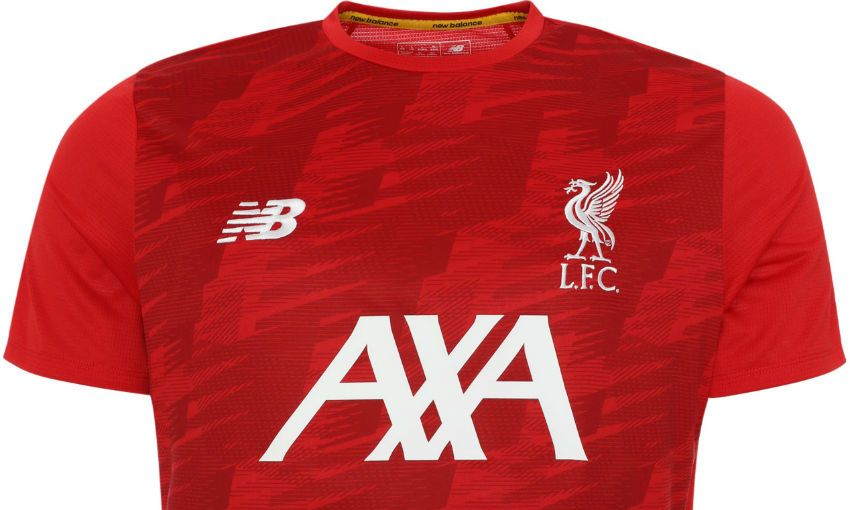 Liverpool FC's 2019-20 New Balance training kit
