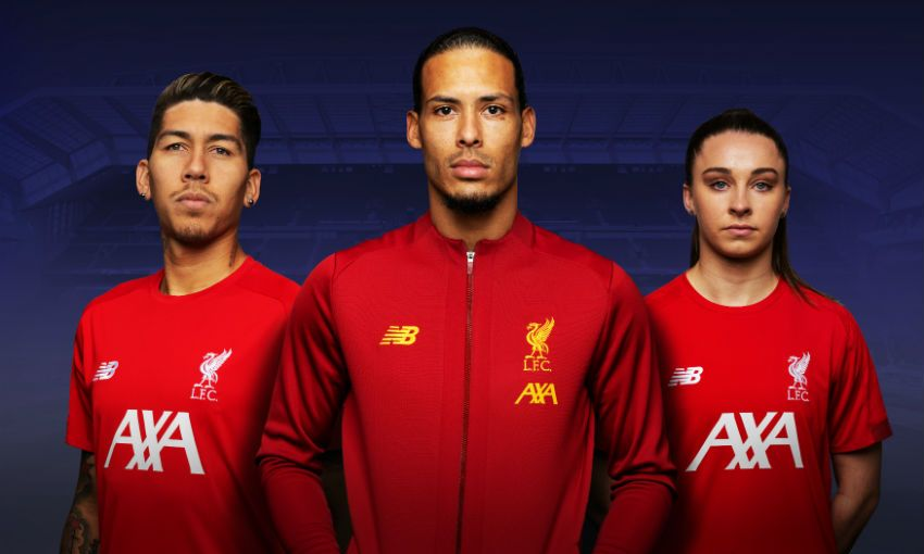 Liverpool FC and AXA - new principal partner