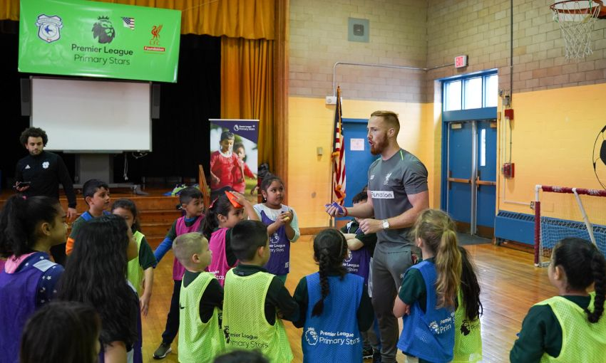 LFC Foundation's Premier League Primary Stars programme in Boston