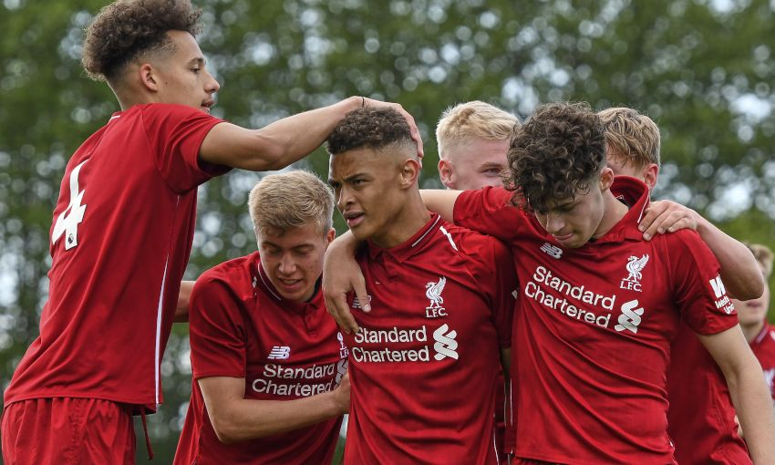 Match report: LFC U18s finish second after win over