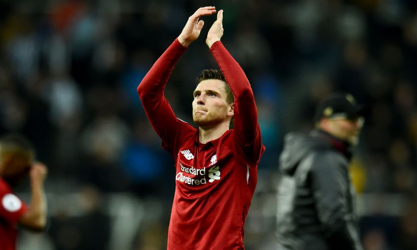 Andy Robertson at Newcastle
