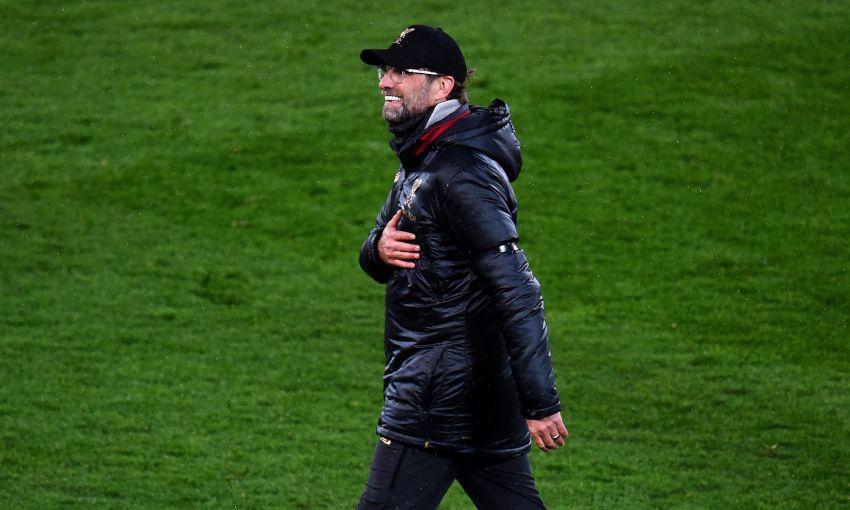 Jürgen Klopp at Anfield