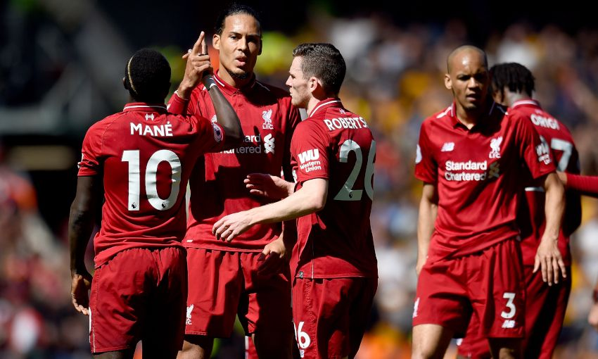 Liverpool v Wolves - May 12, 2019