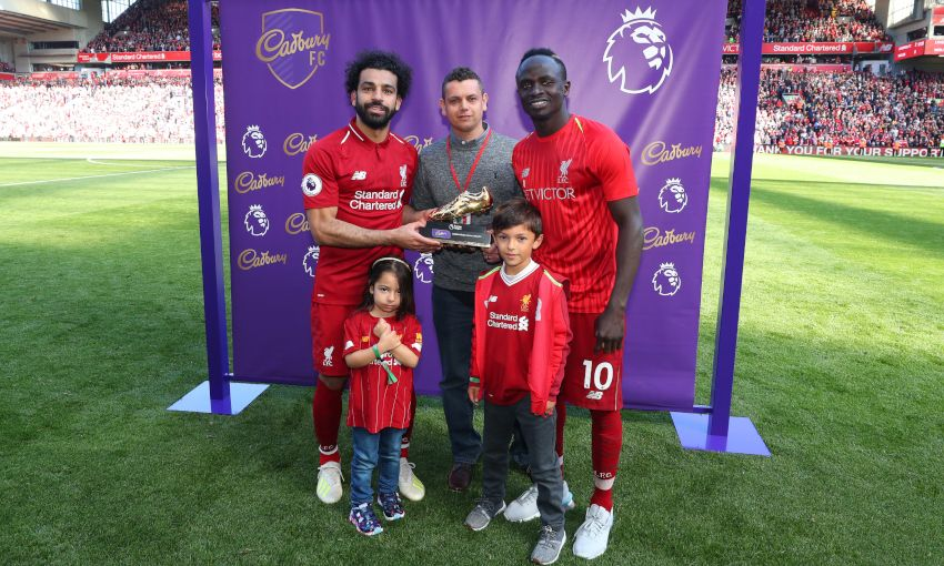 Mohamed Salah and Sadio Mane win Premier League Golden Boot