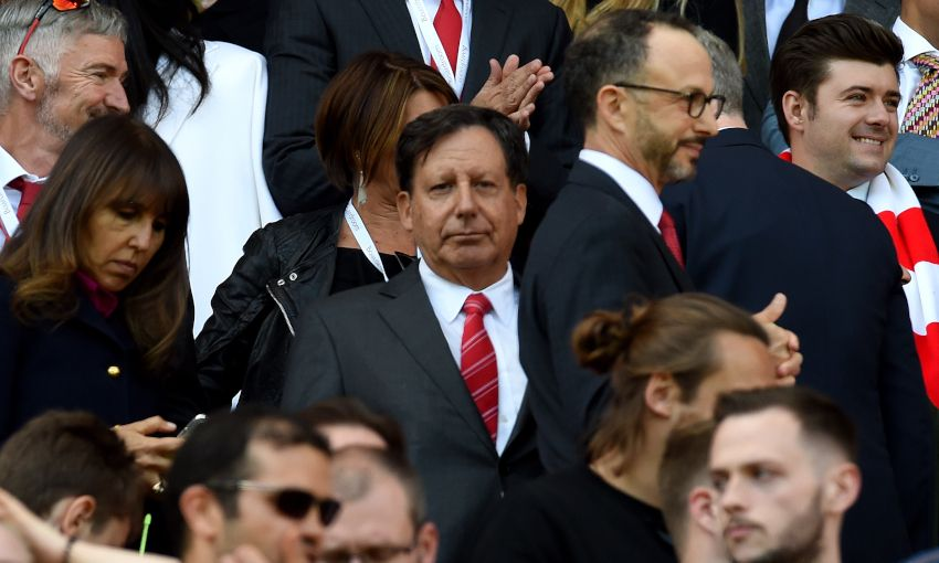 Liverpool chairman Tom Werner at Anfield