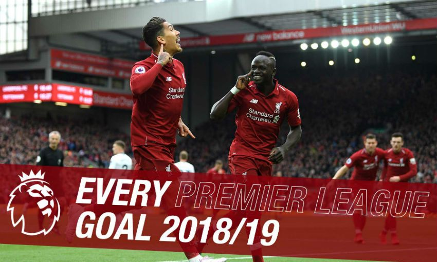 Every Liverpool Premier League goal in 2018-19