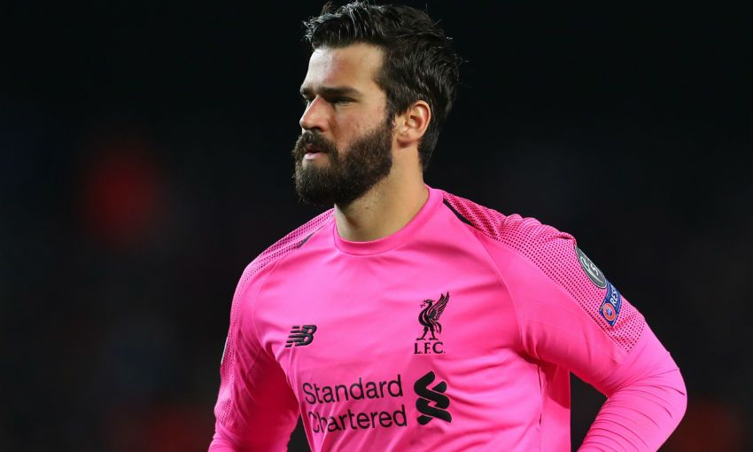 Alisson Becker of Liverpool FC