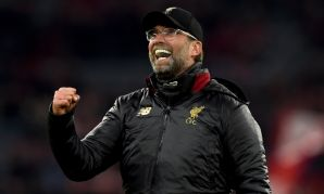 Liverpool manager Jürgen Klopp celebrates