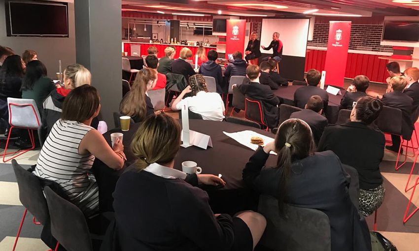 Red Neighbours host careers event at Anfield