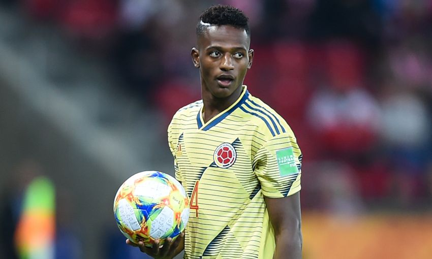 Anderson Arroyo represents Colombia at U20 World Cup