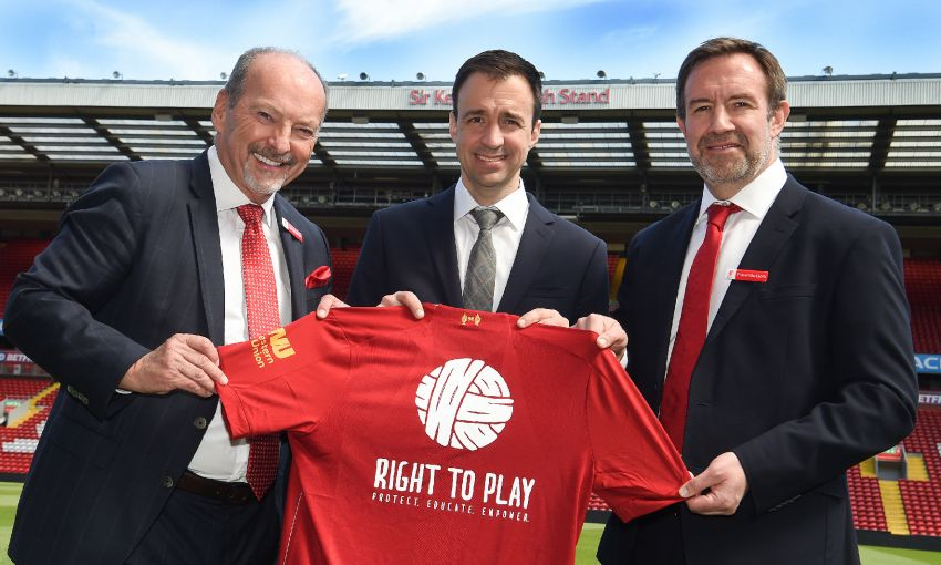 Right To Play Global Partnership