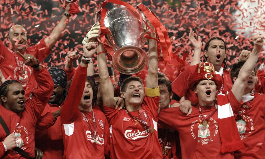Liverpool v AC Milan, 2005 Champions League final