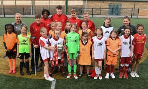 U18s take FA Youth Cup to Anfield community centre