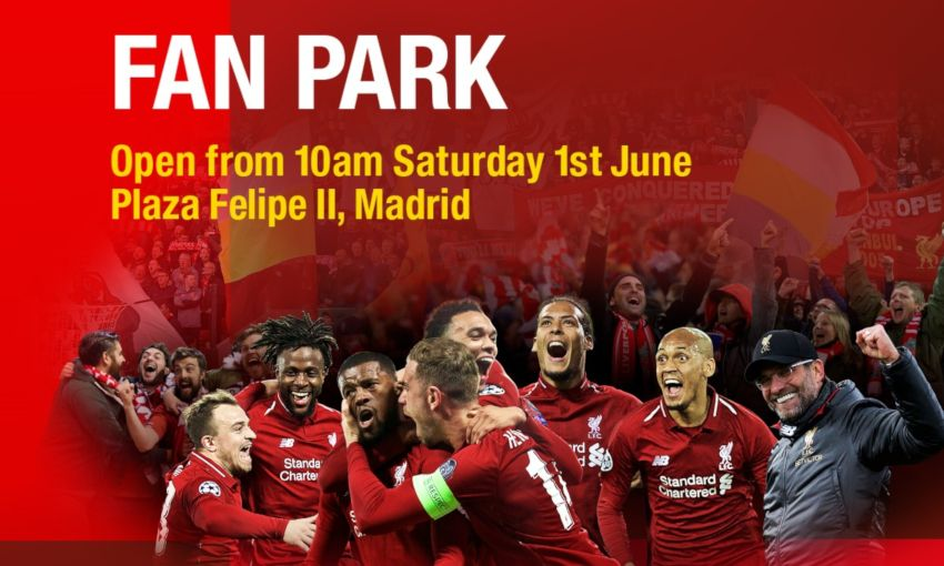 Champions League final Fan Park