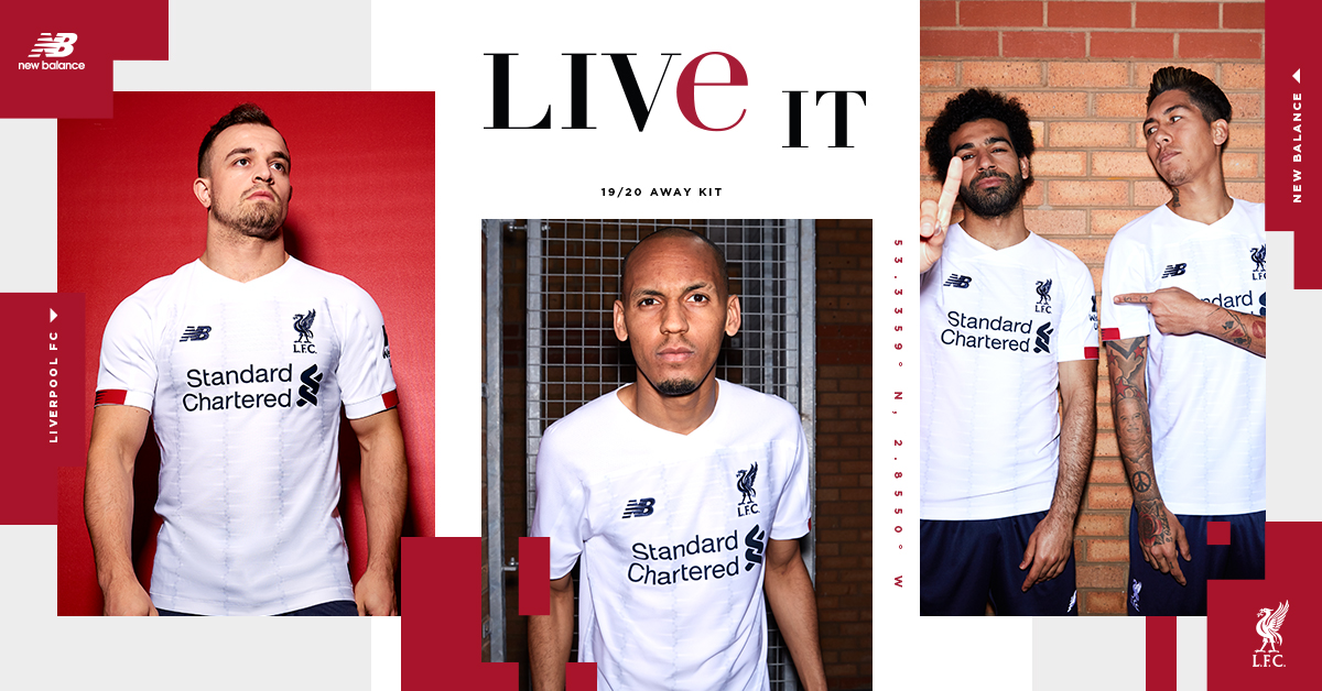 pretty nice 8d7e8 9f329 On sale now: Liverpool's 2019-20 away kit revealed ...