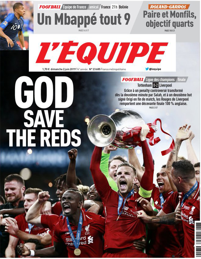 How the world reacted to Liverpool's Champions League win - Liverpool FC