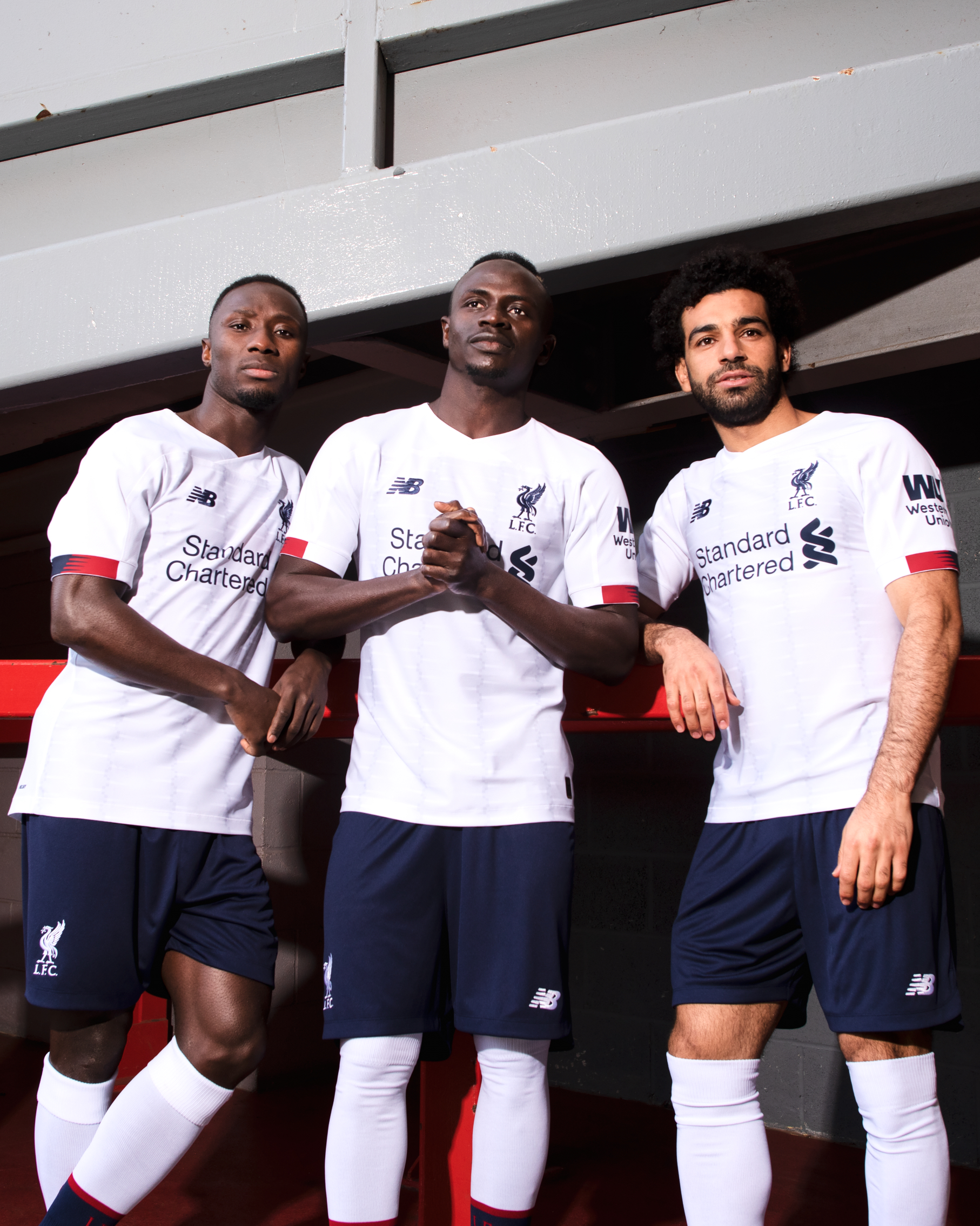 Liverpool release new away kit — SNAPPED