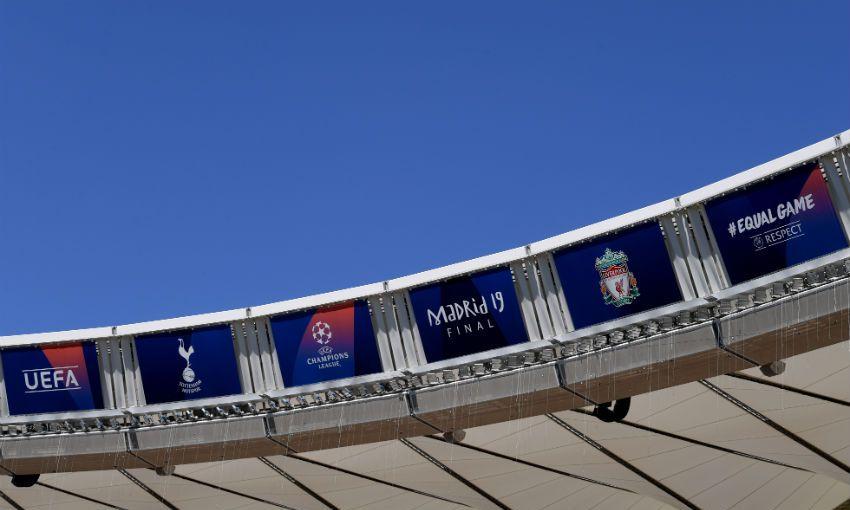 Estadio Metropolitano ahead of 2019 Champions League final